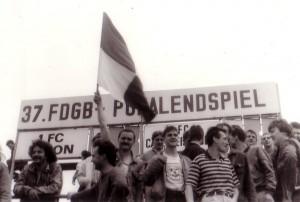 1986 FDGB-Pokalfinale (Foto: Bürste)